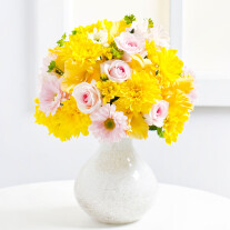 Bouquet of Yellow Chrysanthemums